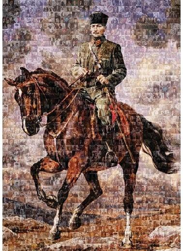Art Puzzle Art Puzzle 1000 Parça Gazi Mustafa Kemal Atatürk - Sakarya Renkli